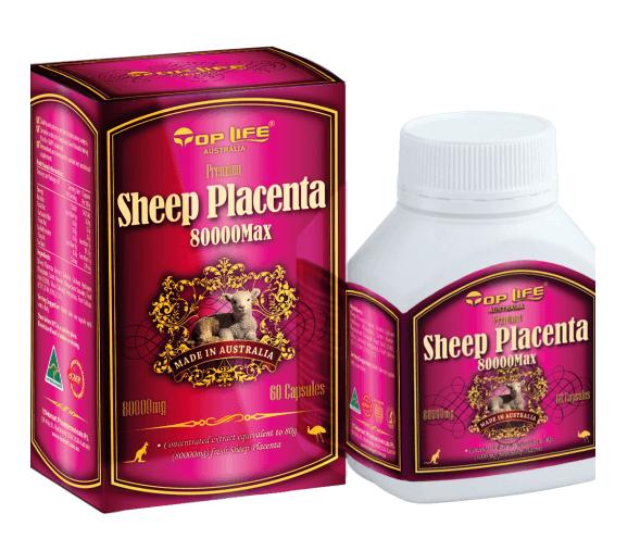 (แบ่งขาย 30 เม็ด) Sheep Placenta Toplife 80,000 MG สารสกัดจากรกแกะด้วยวัตถุดิบจากธรรมชาติ 100% จากประเทศออสเตรเลีย รกแกะบำรุงผิวพรรณหน้าเด้ง กระจ่างใส เน้นลดฝ้ากระ จุดด่างดำ