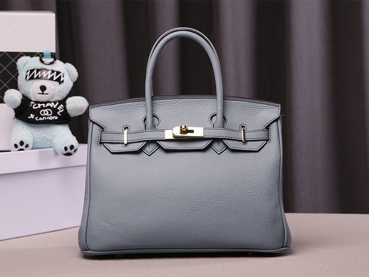 กระเป๋าหนัง birkin 30cm (baby blue)