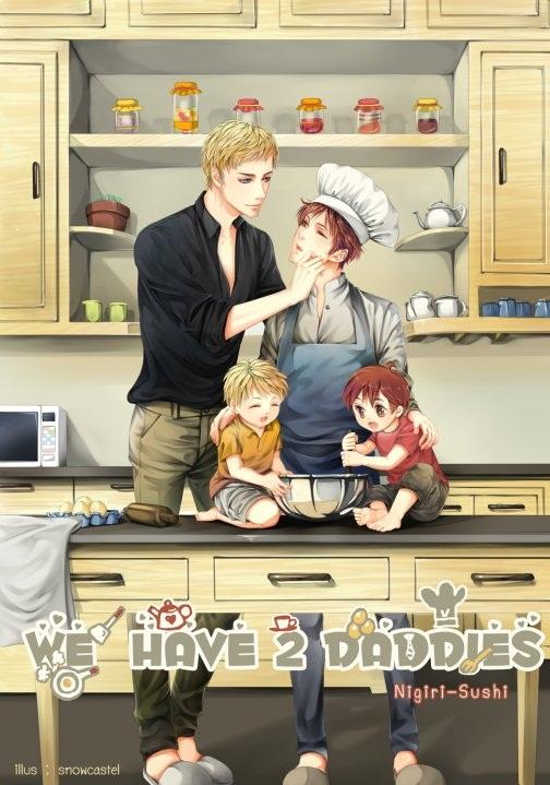 We have 2 daddies : nigiri-sushi