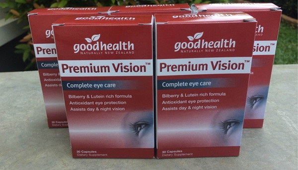 Premium Vision วิตามินบำรุงสายตาจากนิวซีแลนด์ (แบ่งขาย 30 เม็ด)