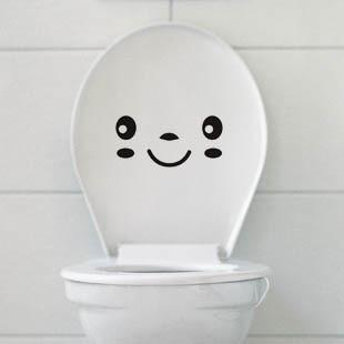 "Toilet Sticker สติ๊กเกอร์ติดสุขภัณฑ์ ""EMOTION I"""