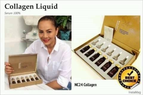 (โปรฯ พิเศษ) NC24 Bio-nano Collagen 100 เปอร์เซ็น เซรั่มคอลลาเจนเข้มข้น ให้ผิวอ่อนวัย ริ้วรอยดูลดเลือน
