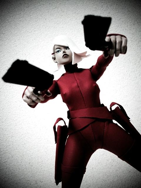 ThreeA Red Devil Sham manchester assault