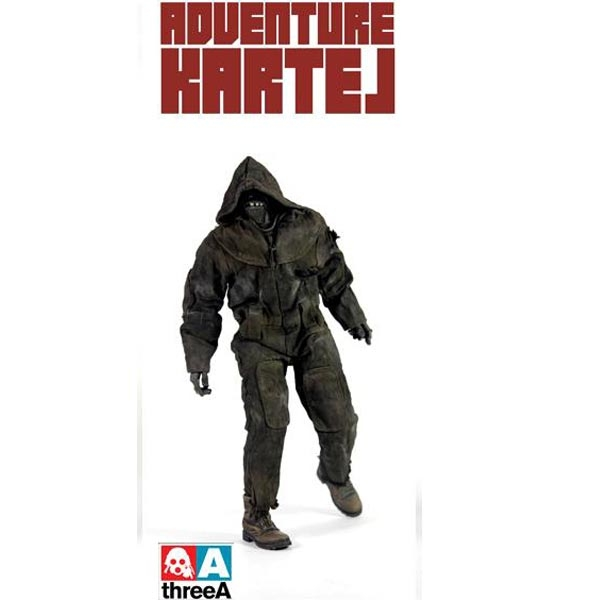 ThreeA Adventure Kartel - HOODZOMB (BLACK)
