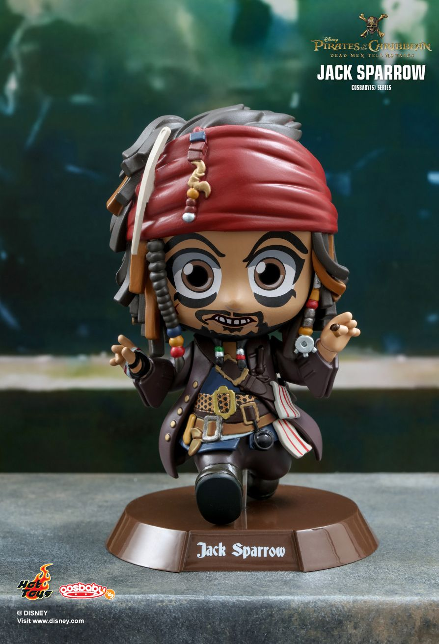 Hot Toys COSB372 PIRATES OF THE CARIBBEAN: DEAD MEN TELL NO TALES - JACK SPARROW