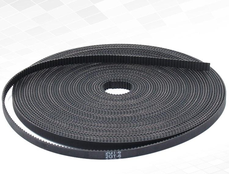 3D printer gt2 belt (หน้ากว้าง 6mm) /เมตร