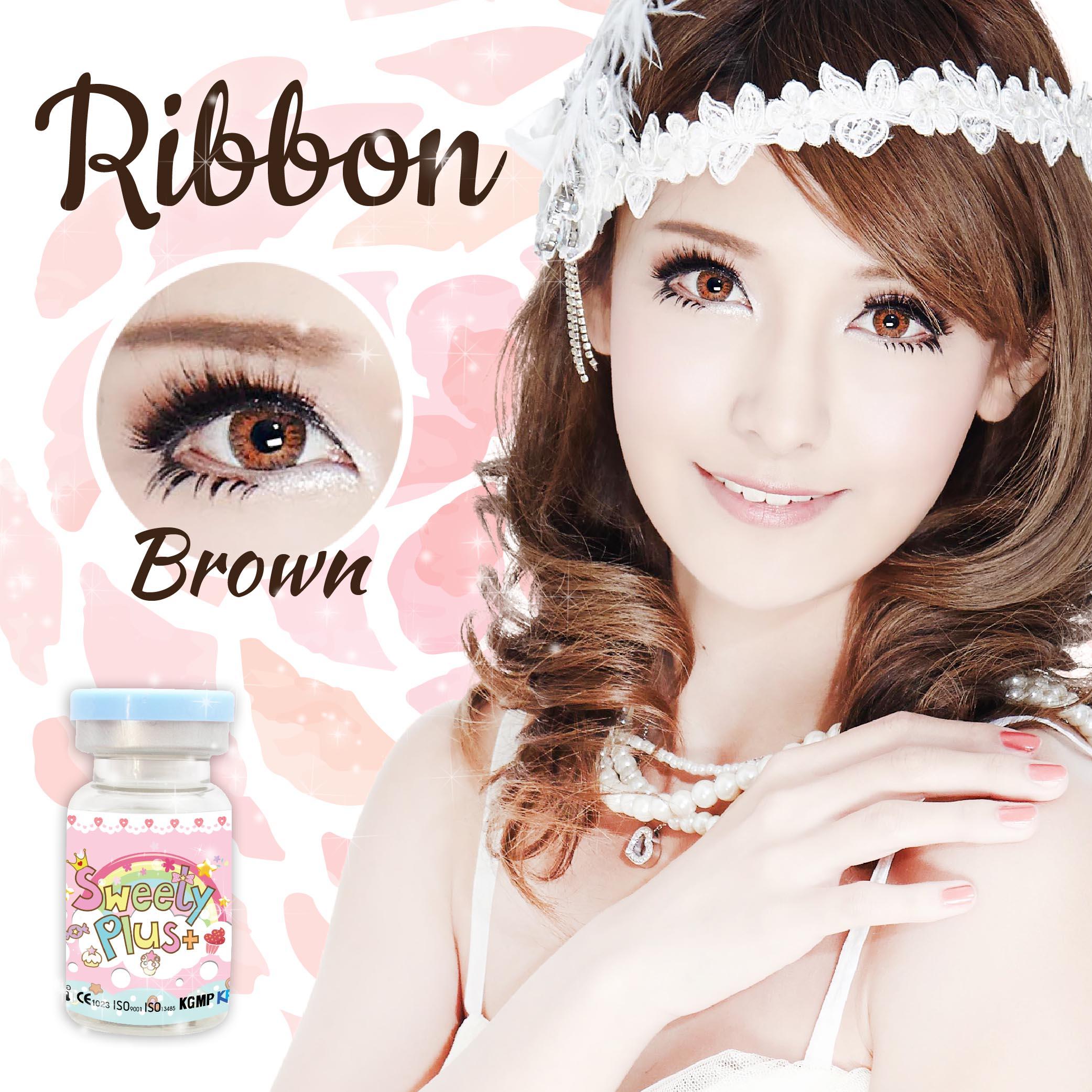 Ribbon - brown