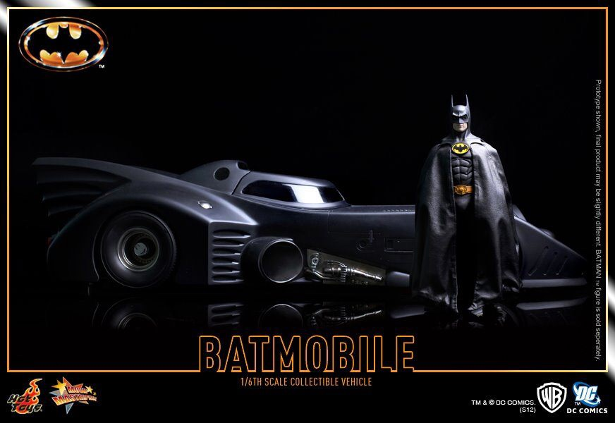 HOT TOYS MMS170 Batman - Batmobile 1989 version