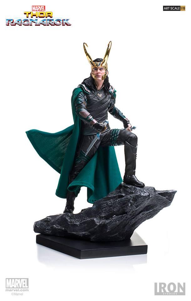 Iron Studios - Loki BDS Art Scale 1/10 Thor Ragnarok
