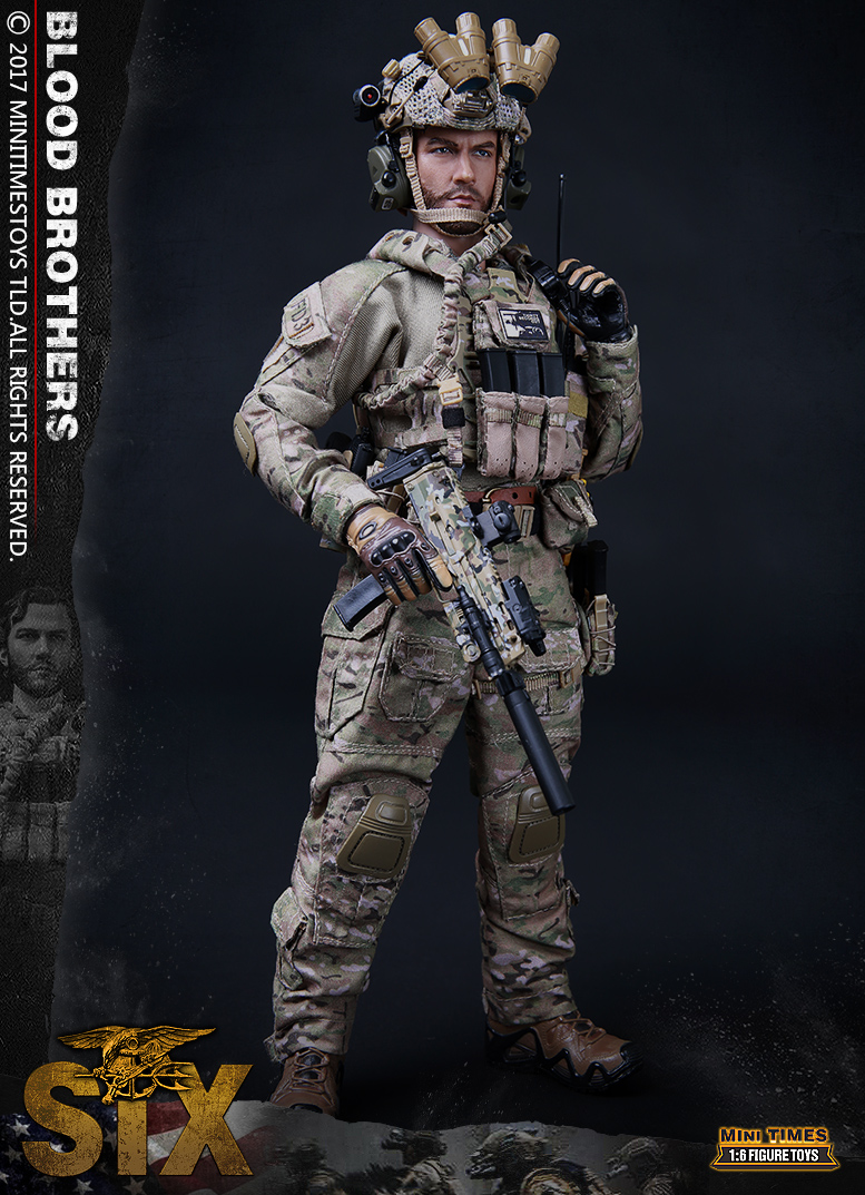 Mini Times Toys M010 Blood Brothers The seal team six
