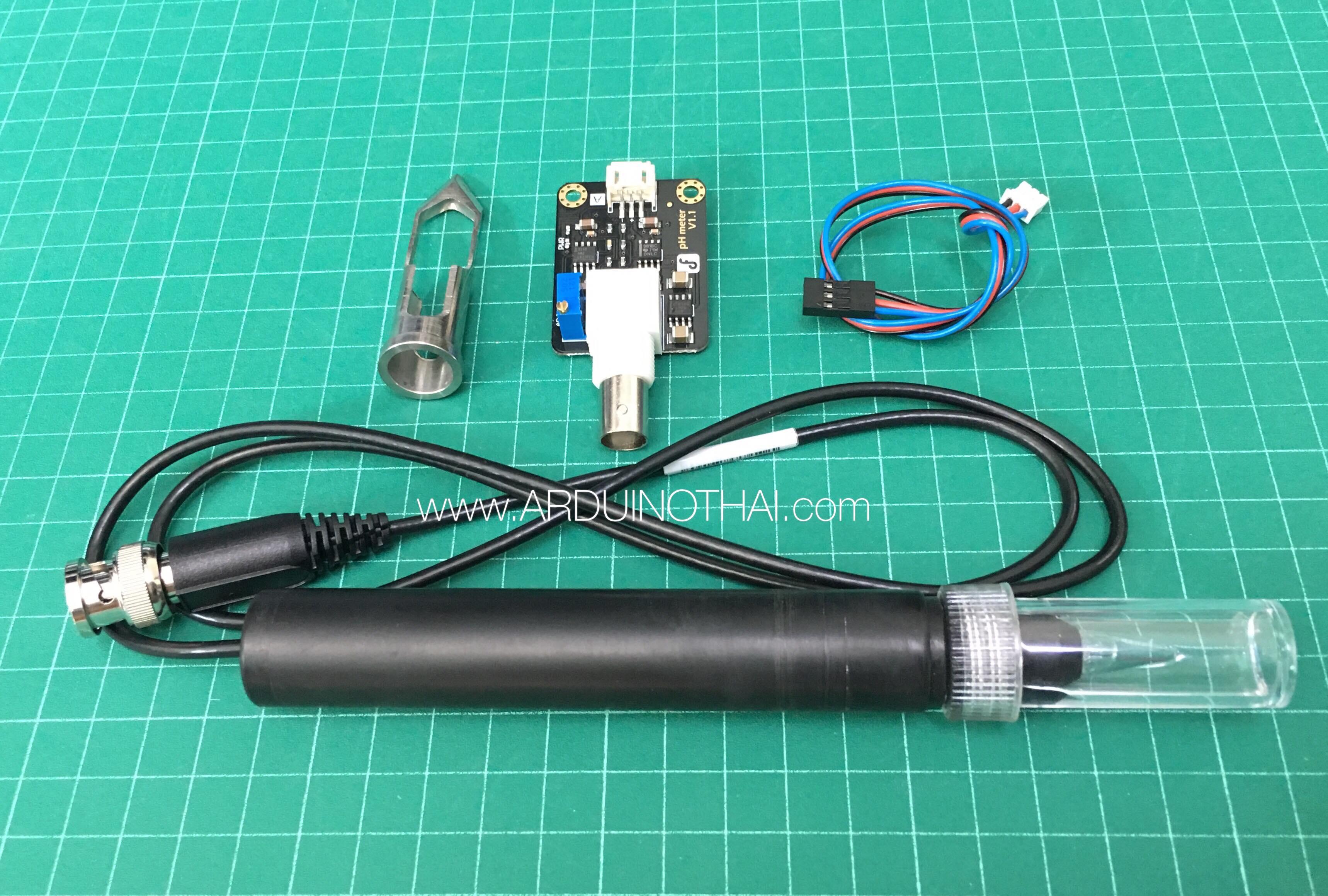 Analog Spear Tip pH Sensor/Meter Kit (For Soil And Food Applications)