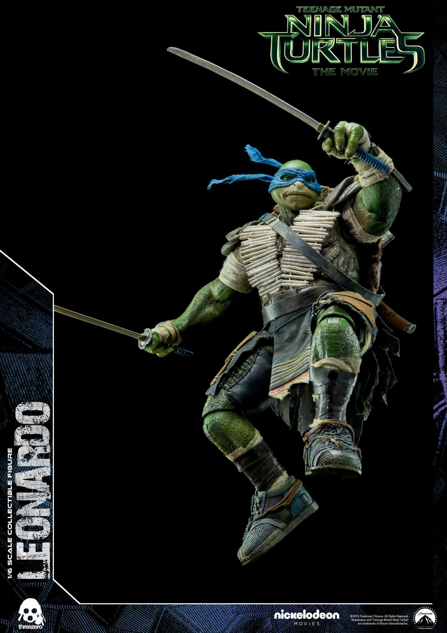 Three Zero TMNT-001 Ninja Turtles Leonardo
