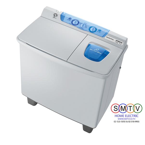 เครื่องซักผ้า 2 ถัง 8 kg ยี่ห้อ HITACHI รุ่น PS-80JSราคาพิเศษ