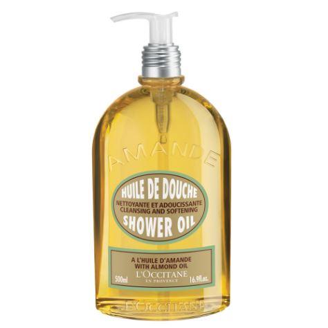 *พร้อมส่ง*L'Occitane Almond Shower Oil 500ml. ขวดใหญ่หัวปั๊ม เจลเนื้อออยล์จะกลายเป็นครีมน้ำนมละเอียดอ่อน ด้วยส่วนผสมของ Almond เข้าบำรุงผิวให้นุ่มละเอียดจนรู้สึกได้ เรียบลื่น ชุ่มชื้น กลับสมดุลให้ผิว กลิ่นละมุน สะอาดไม่แห้งตึง และยังสามารถใช้สำหรับกา