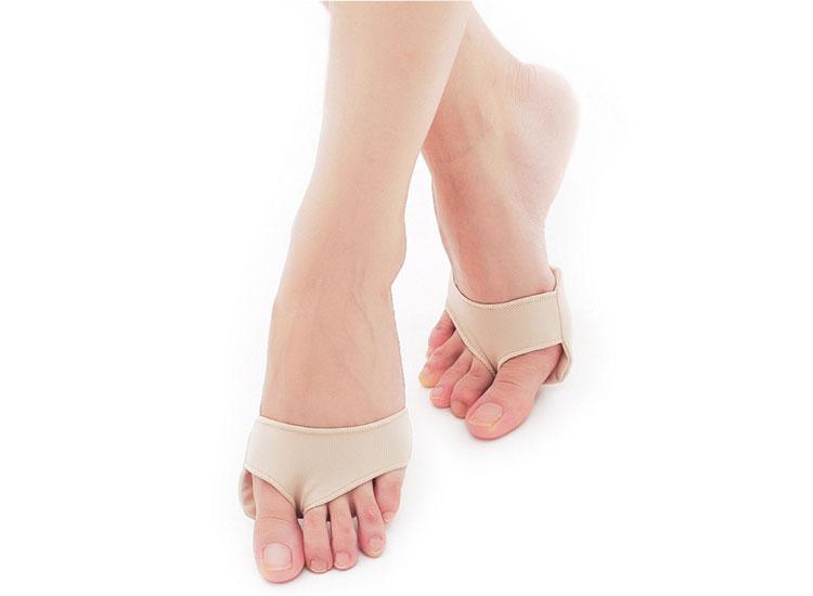 แผ่นเสริมป้องกันอาการบาดเจ็บที่ปลายเท้าจากการใส่ส้นสูง
