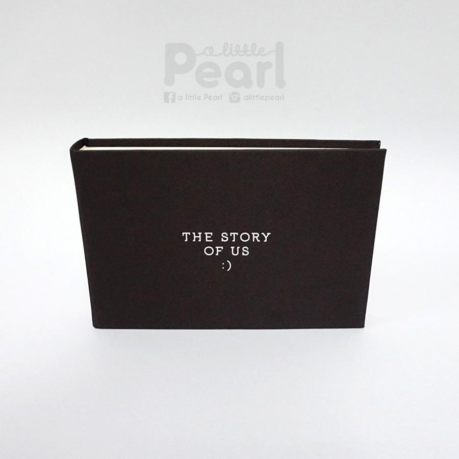 อัลบั้มจุ 50 รูป The story of us สีน้ำตาลเข้ม