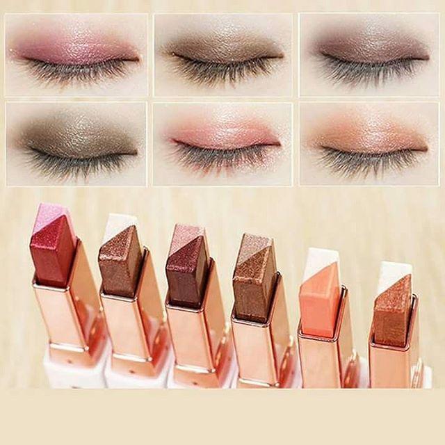 **พร้อมส่ง**NOVO Color Eye Shadow Stick Double Color อายแชโดว์ทูโทน มี 2 สีในแท่งเดียว เนื้อครีมสีไฮไลท์ ทาได้ทั้งตา และแก้ม จัดวางรูปแบบให้สะดวกต่อการใช้ จึงแต่งหน้าได้อย่างง่ายและรวดเร็ว สาวๆที่ทาตาไม่เก่ง เบลนด์สียังไม่เป็นแนะนำเลยค่ ,