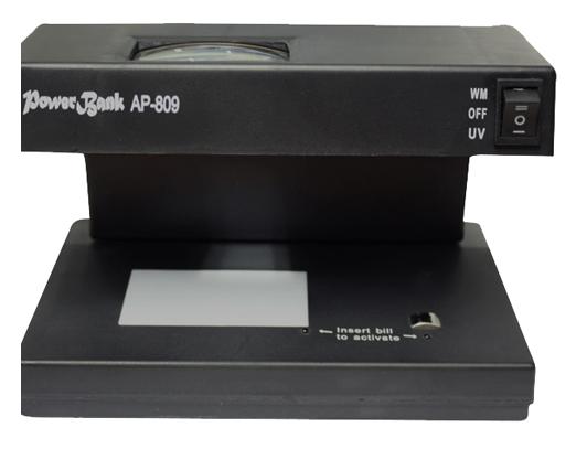เครื่องตรวจสอบธนบัตรปลอม Power Bank AP-809