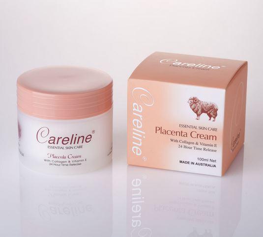 **พร้อมส่ง**ครีมรกแกะ Careline Placenta Cream with Collagen & Vitamin E 100 ml. ครีมรกแกะผสมคอลลาเจน และวิตามินอี แคร์ไลน์ พลาเซ็นต้าครีม จากประเทศออสเตรเลีย บำรุงและรักษาความชุ่มชื้น เพิ่มความตึงกระชับ เนียนเรียบ คืนความขาว กระจ่างใส ลดเลือนริ้วรอย จุดหม