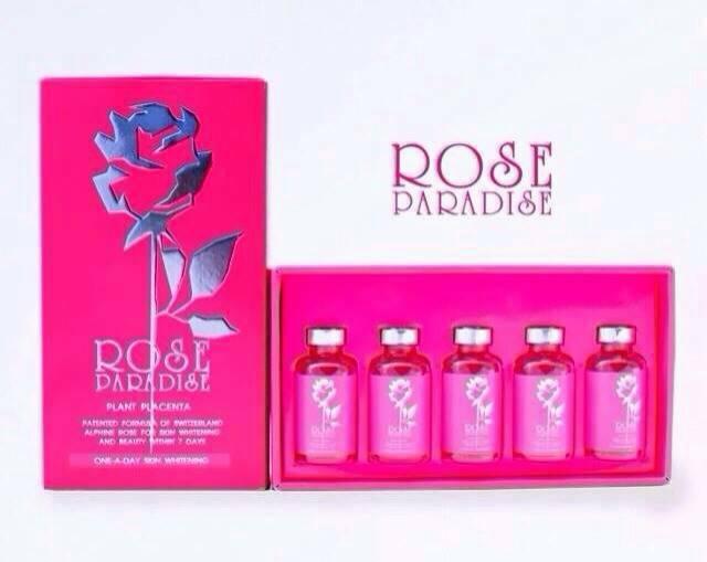 Rose Paradise Plant Placenta โรส พาราไดซ์ กลูต้ารกพืช