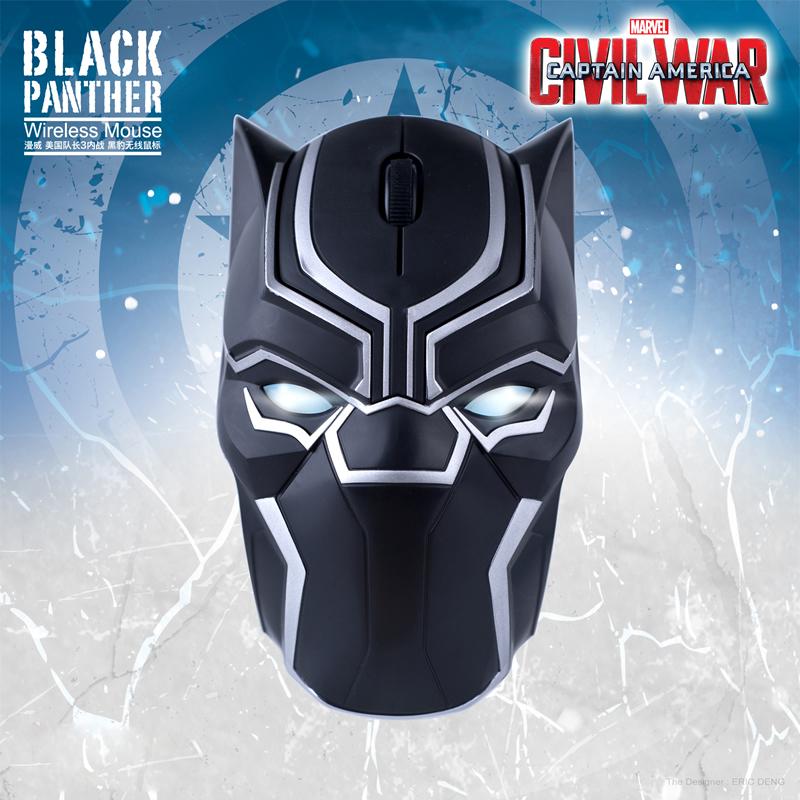 เมาส์ไร้สาย Black Panther Wireless Mouse