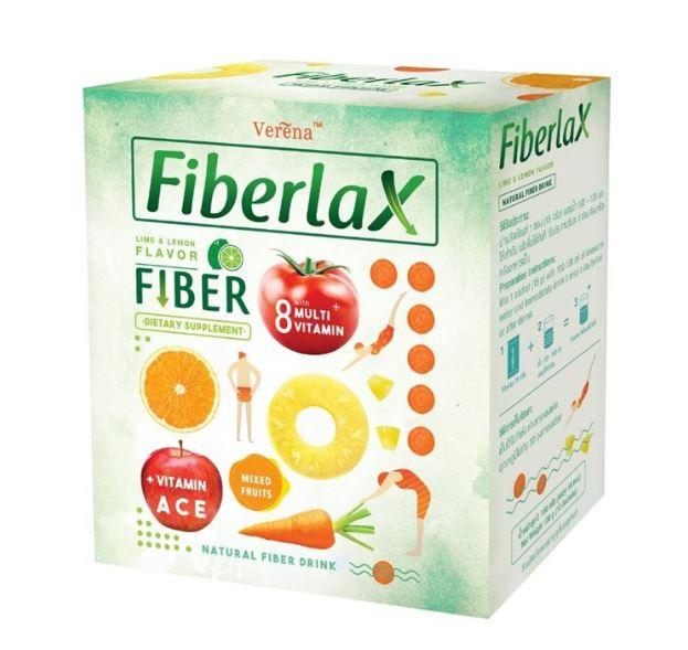 Verena Fiberlax ไฟเบอร์แล็กซ์ ตัวช่วยดีท๊อกซ์ ลดไขมัน หุ่นสวยทันใจ ดีท๊อกซ์ไขมัน ดักจับไขมัน แป้ง ยับยั้งการดูดซึมไขมันสามารถช่วยให้รูปร่าง เพรียวและสุขภาพดีขึ้น ตอบโจทย์ความต้องการของคนรักสุขภาพได้เป็นอย่างดี