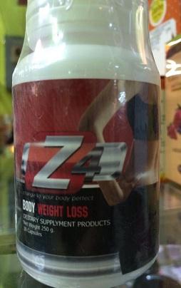 Z4 Body Weight Loss ลดน้ำหนัก สำหรับลดเซลล์ลูไลท์