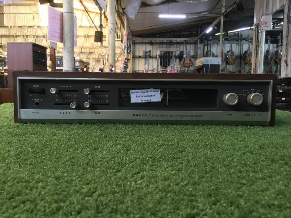 วิทยุ FM AM Sanyo สินค้าไม่พร้อมใช้งาน (ต้องซ่อม)