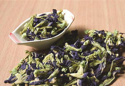 ดอกอัญชัน อบแห้ง (Butterfly Blue Pea Tea)