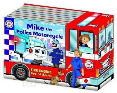 Emergency Vehicles Truck Set (8 Board Books)