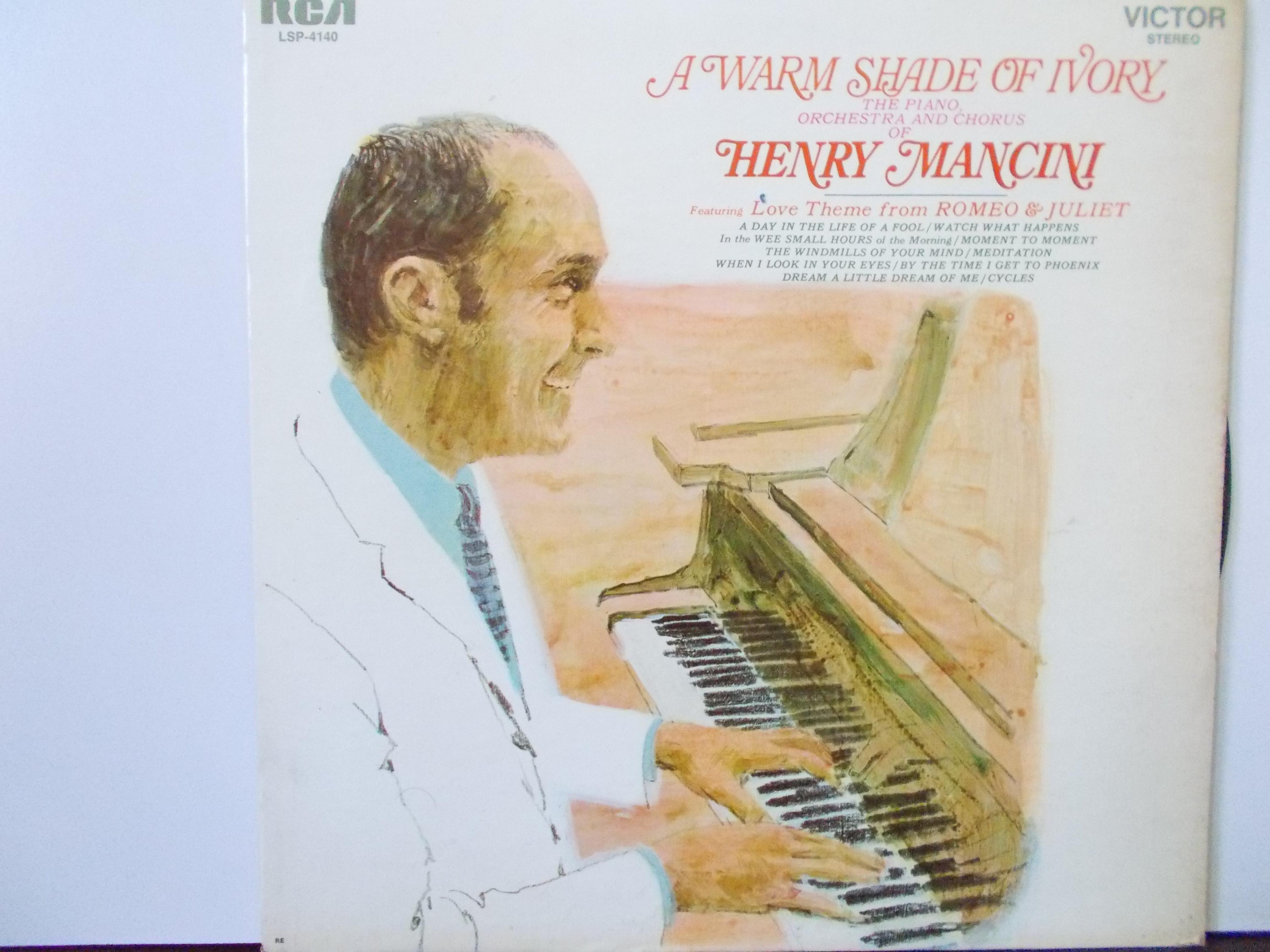 แผ่นเสียง THE PIANO ORCHESTRA AND CHORUS OF HENRY MANCINI : NM/NM