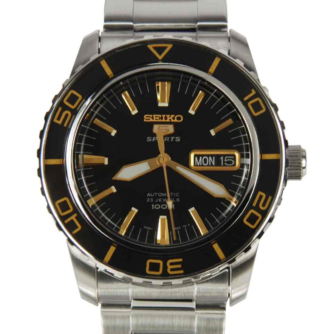 นาฬิกา Seiko Automatic Sports Mens Diver Watch SNZH57K1