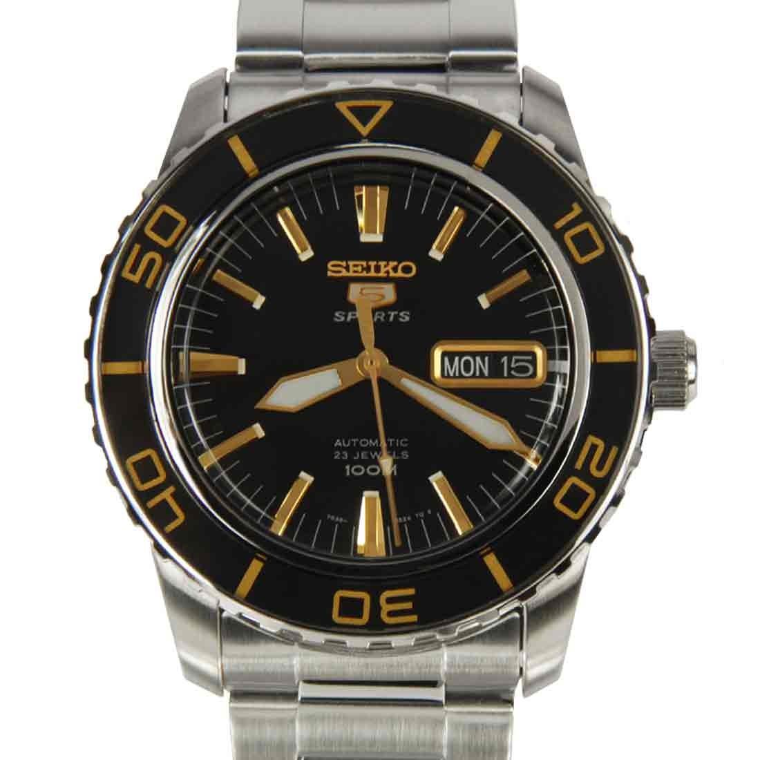 นาฬิกา Seiko Automatic Sports Mens Diver Watch SNZH57K1