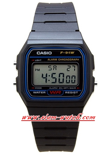 Casio Digital Classic Watch รุ่น F-91W-DG
