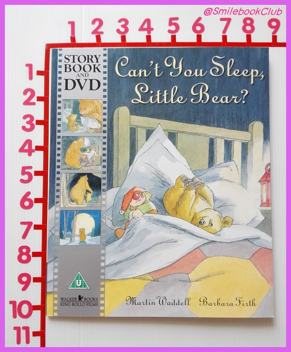 Can't You Sleep, Little Bear? - Storybook and DVD