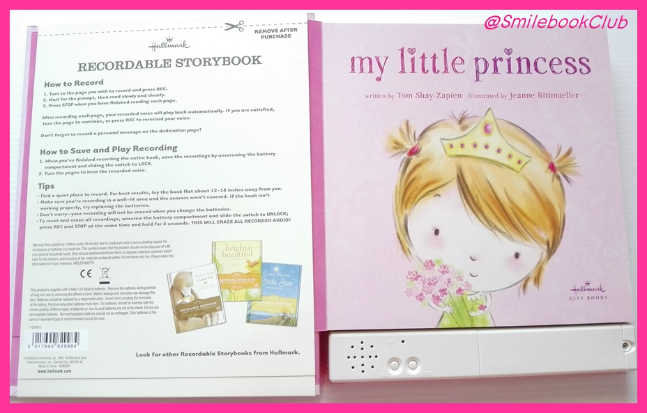My Little Princess : Recordable STORYBOOK By Hallmark