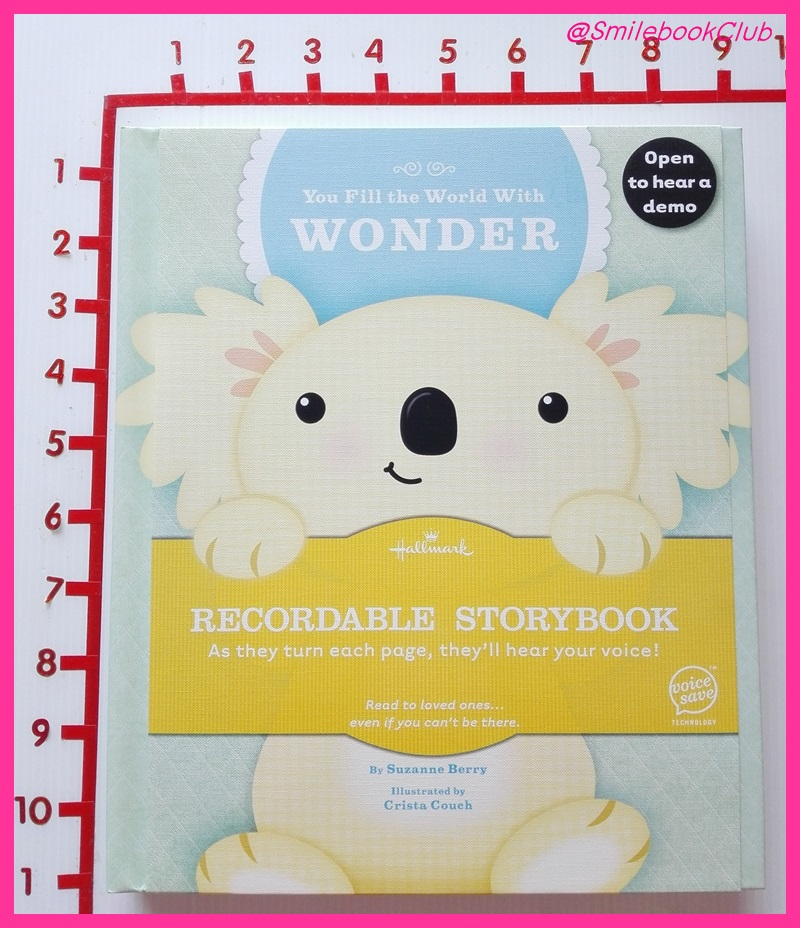 You Fill The World With Wonder : INTERACTIVE STORYBOOK By Hallmark