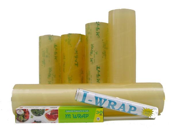 ฟิล์มห่ออาหาร ตรา L-Wrap