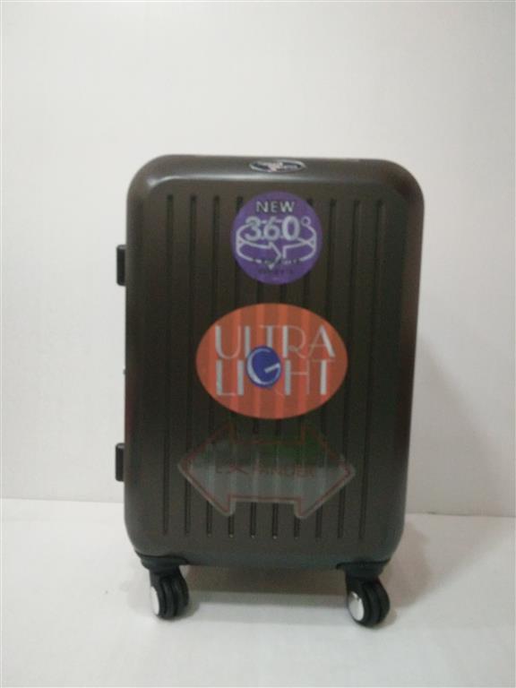 กระเป๋าเดินทาง ล้อลาก 20 นิ้ว สีกาแฟ