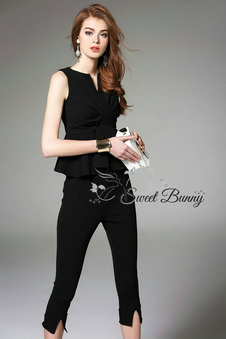Sweet Bunny Present... Simply pretty set สีดำ