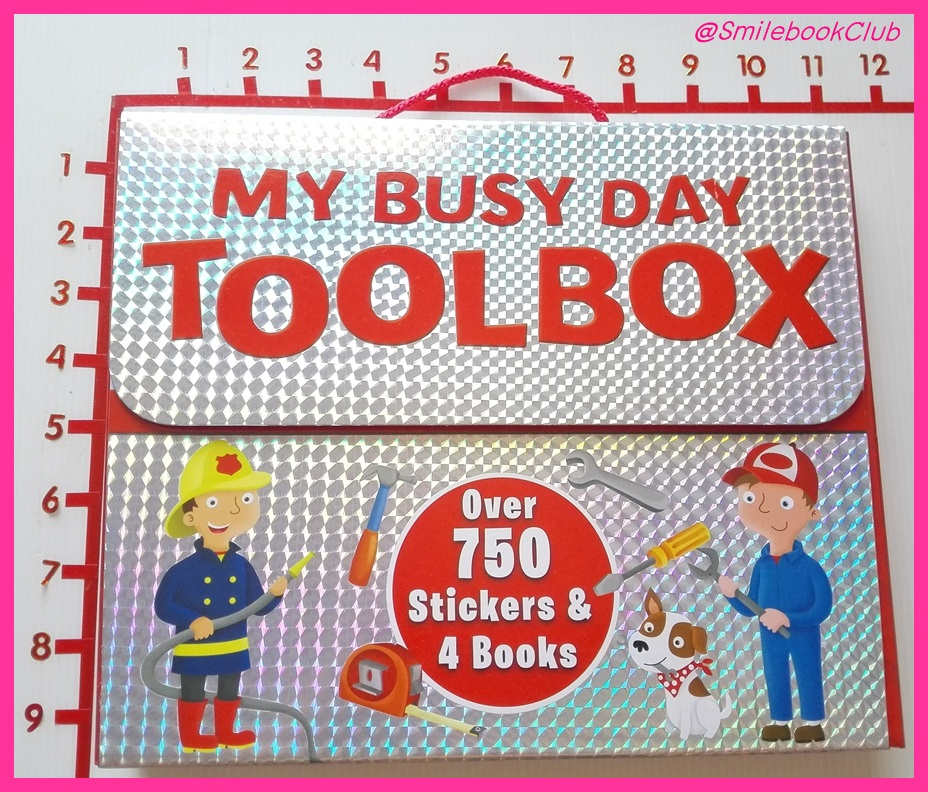 MY BUSY DAY TOOLBOX : over 750 Sickers & 4 Books