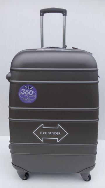 กระเป๋าเดินทาง ไฟเบอร์ สีเทา ยี่ห้อ hipolo ของแท้ เกรด A ขนาด 29นิ้ว