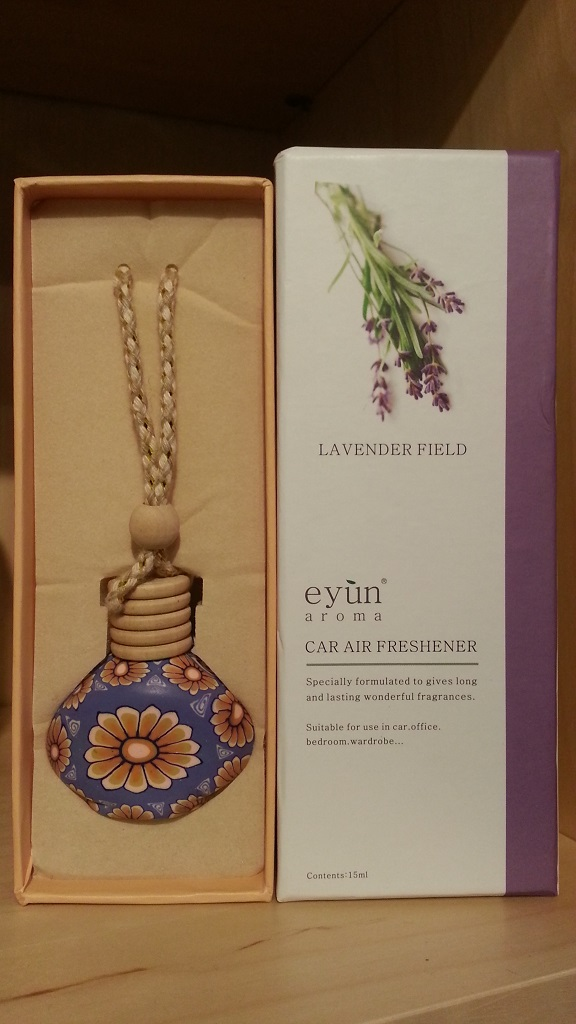 Eyun aroma Car Air Lavender Field 15ml.Price ราคา 200 บาท.