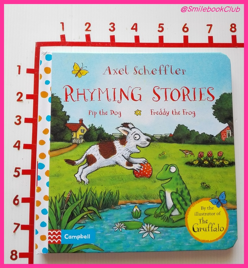 RHYMING STORIES :Pip the Dog & Freddy the Frog - by Axel Sceffler