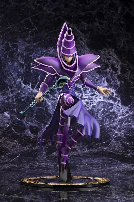 Yu-Gi-Oh! Duel Monsters - Black Magician - ARTFX J - 1/7 - -Unmei no Duel!!- (Limited Pre-order)