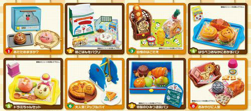 Doraemon Minna no Bakery 8Pack BOX (CANDY TOY)