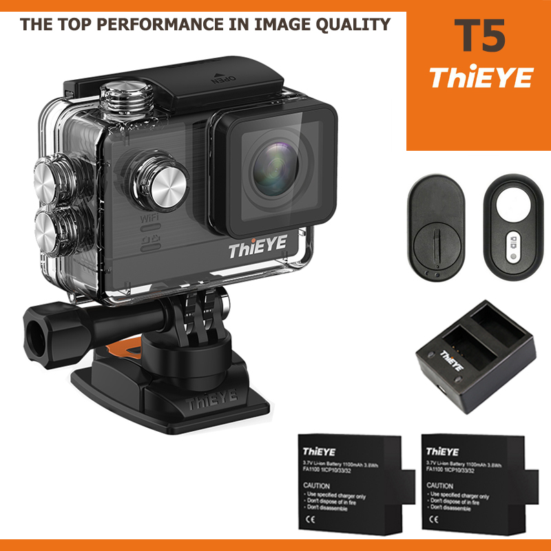 ThiEYE T5 4K 16Mp ไทย + Battery + Dual-charger + Remote Bluetooth