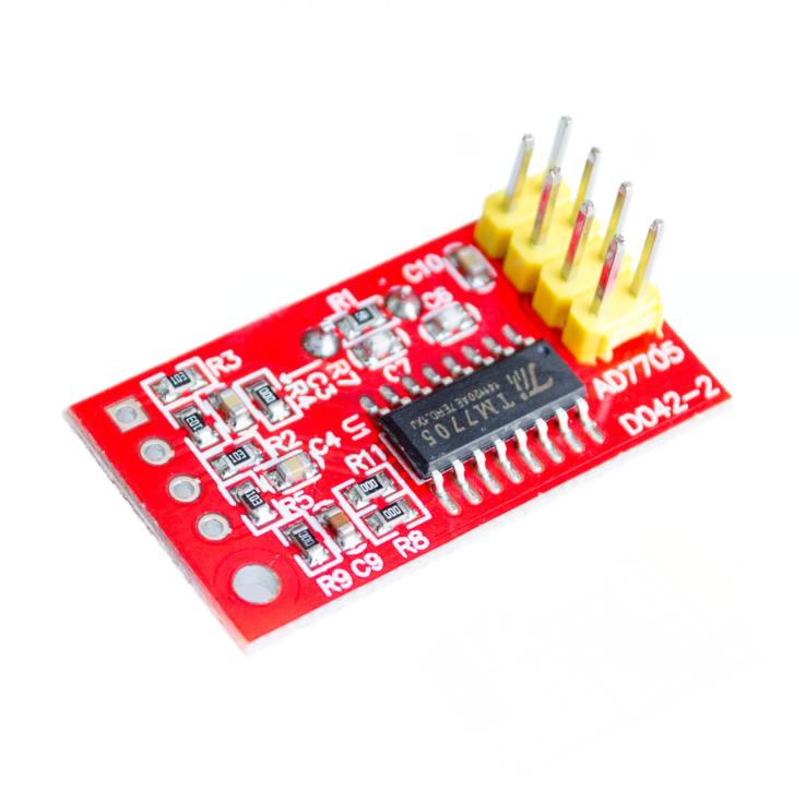 โมดูลแปลงสัญญาณ analog เป็น digital M7705 Dual 16-bit A/D module Compatible AD7705