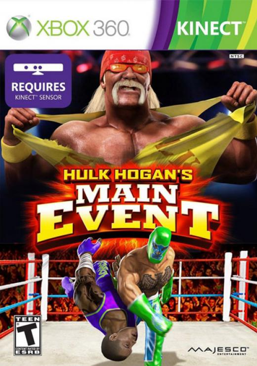 Hulk Hogan Main Event [Kinect][RGH]