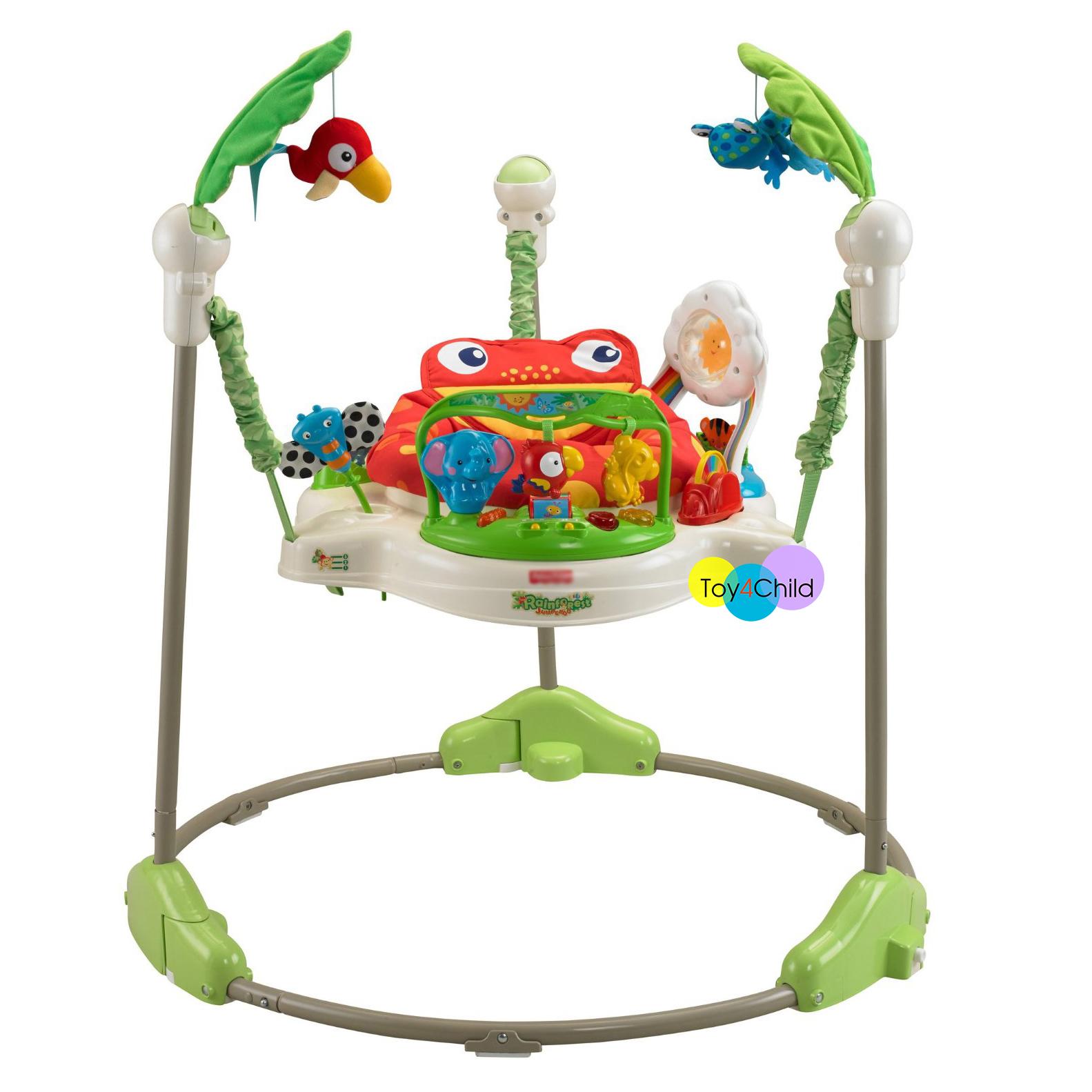 เก้าอี้กระโดด Jumperoo Rain Forest Baby Walker ราคาถูก